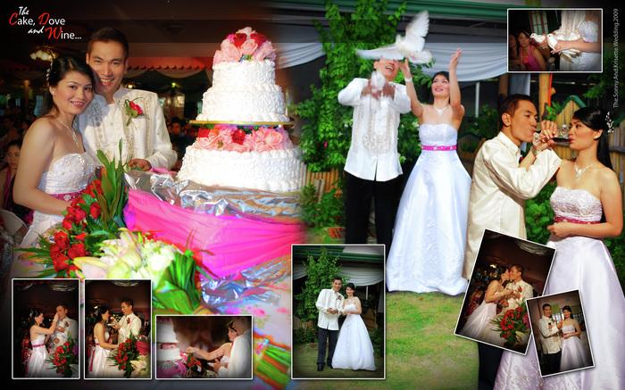 Wedding Photo Album 8R Spread